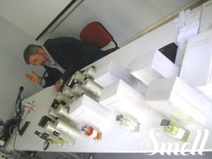 Enrico Buccella durante la lezione