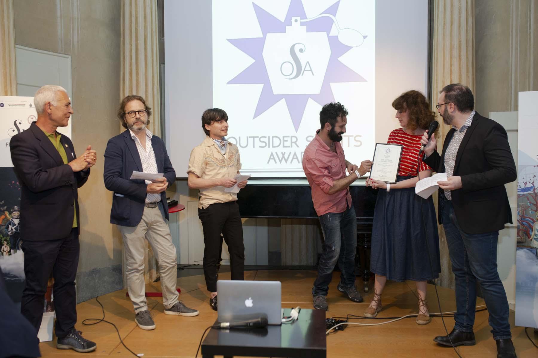 Joan Giacomin Stefano Tirendi OSA! Award 2018