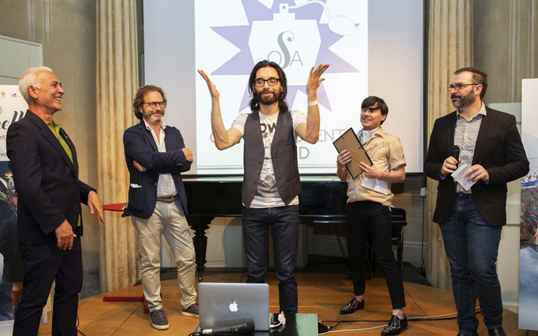 Marco Ceravolo winner - OSA! Award 2018