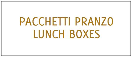 Pacchetti pranzo